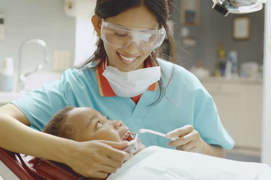 Dental hygienistsMedian hourly earnings: $34.19 | 2010-2014 job growth: 9 percent Photo: Blend Images - Karin Dreyer, Getty Images/Brand X