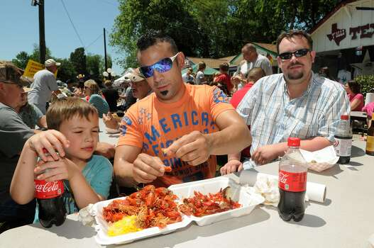 Texas Crawfish and Music FestivalFriday-Sunday, April 24-26 and May 1-3More than a dozen bands, including headliners Josh Ward and Terrance Simien, will perform at this two-weekend event in Old Town Spring. In addition to live music, festivities include a carnival midway, petting zoo, arts-and-crafts vendors and plenty of freshly boiled mudbugs.When: 6 p.m.-midnight Friday, noon-midnight Saturday and noon-6 p.m. SundayWhere: Main at Hardy Road in Spring Tickets: $2-$10Information: texascrawfishfestival.com Photo: Jerry Baker, Freelance