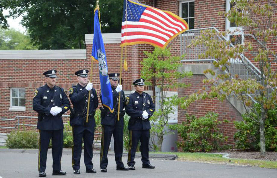 A new officer has joined the ranks of the New Canaan Police Department. Photo: Contributed Photo / New Canaan News