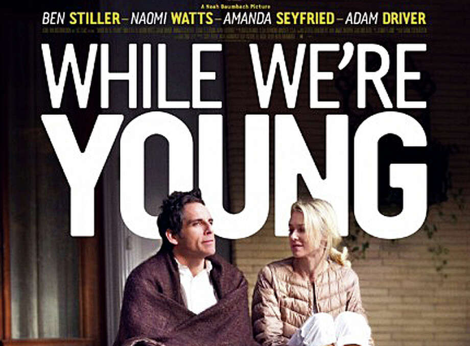 """While We're Young"" is a new movie about 40-somethings trying to re-capture their youth, and stars Ben Stiller and Naomi Watts. Photo: Contributed Photo / Westport News"