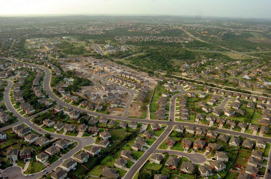 Stone Oak Elevation : Watch the incredible year development boom in stone
