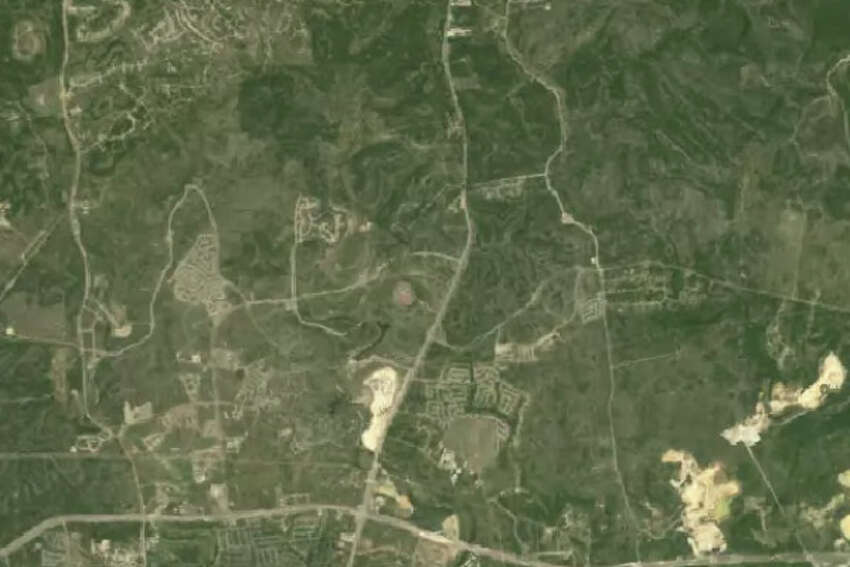 View of the Stone Oak area in 1993 from NASA Landsat images.
