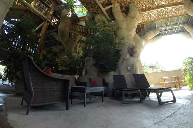 The cabanas are designed to have a luxury vibe for customers at Schlitterbahn.