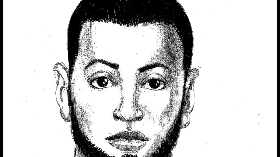 A sketch shows the man police suspect in the attacks on schoolgirls. Photo: Hayward Police / ONLINE_YES