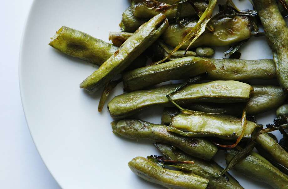 Roasted favas with Indian spices , Friday, April 17, 2015, in San Francisco, Calif. Photo: Santiago Mejia, The Chronicle