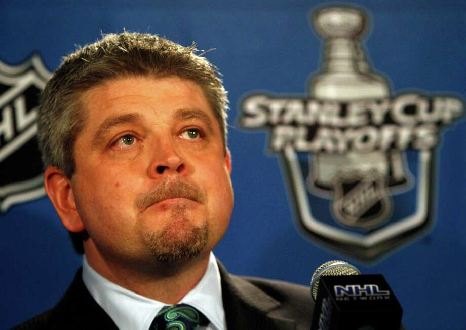 San Jose Sharks head coach Todd McLellan, shown here in 2010, is out after seven years with the franchise. Photo: Nam Y. Huh / AP / AP