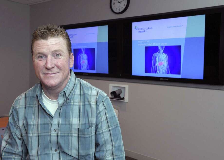 John Rocks, who contracted Hepatitis C during a blood transfusion, benefited from a medical teleconferencing program that gives his Pearland doctor advice from the Texas Medical Center without having to drive into the city. Photo: Courtesy Photo / ONLINE_YES