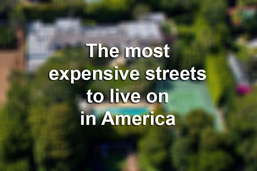 Click to see the most expensive streets to live on in the nation.