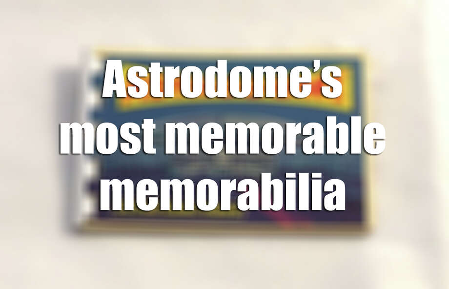 Astrodome photo booklet. Courtesy Mike Vance. Photo: Mike Vance