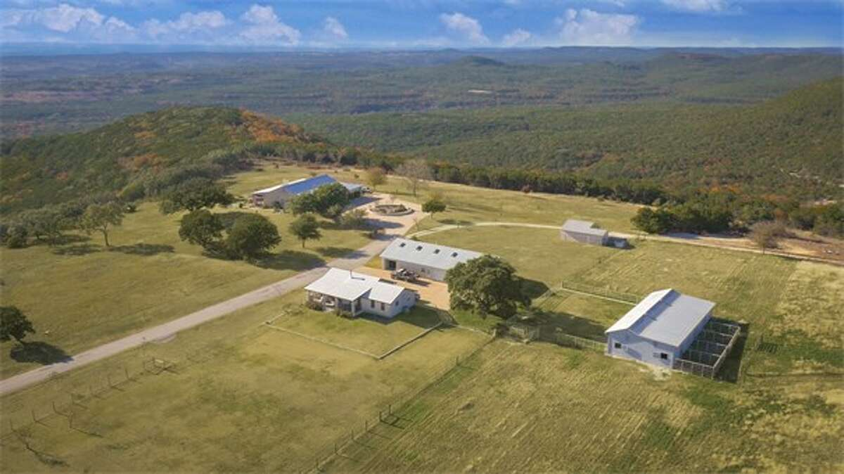 This giant ranch out in Marble Falls, just outside Austin, is now on the market for $37 million.