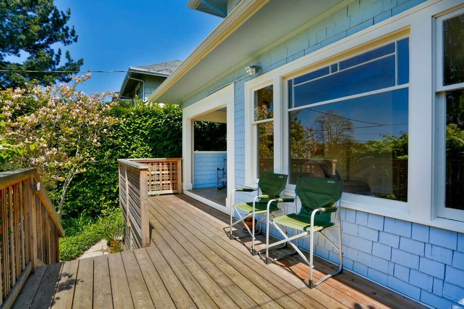 The first home,924 31st. Ave., is listed for $495,000. The two bedroom, one bathroom home has a new roof and large cedar front deck. See the full listing here. Photo: Alex Strazzanti