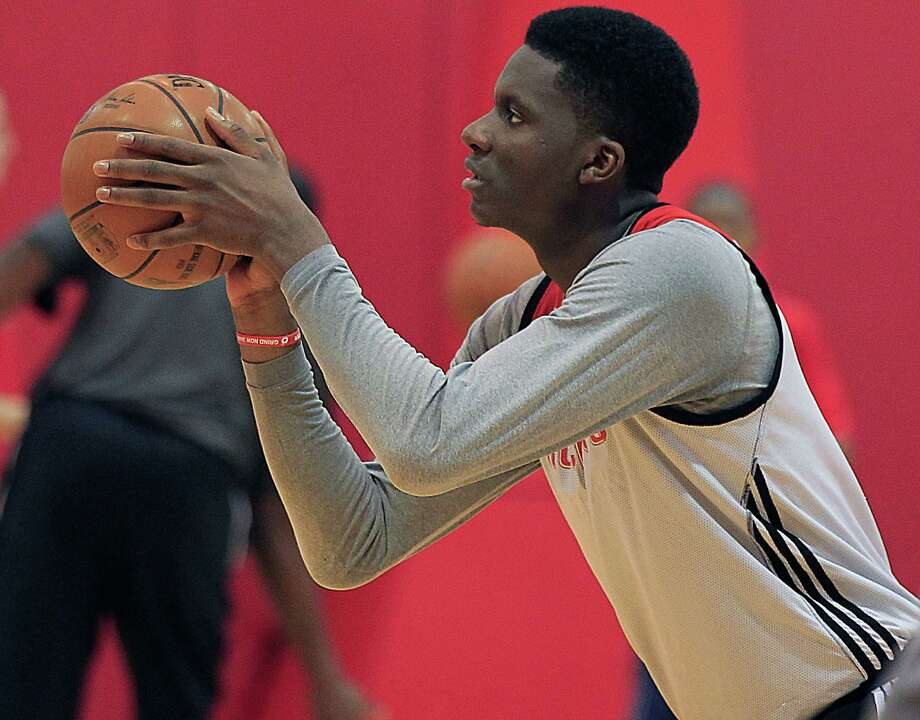 Houston Rockets center Clint Capela's dedication to practicing free throws is paying off and may have been the biggest reason the Rockets beat Memphis on Saturday night. Photo: James Nielsen, Houston Chronicle / © 2015  Houston Chronicle
