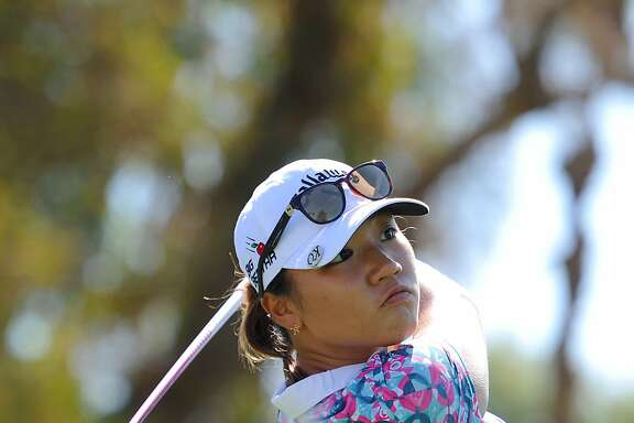 RANCHO MIRAGE, CA - APRIL 05:  Lydia Ko of New Zealand makes a tee shot on the third hole during the final round of the ANA Inspiration on the Dinah Shore Tournament Course at Mission Hills Country Club on April 5, 2015 in Rancho Mirage, California.  (Photo by Robert Laberge/Getty Images)