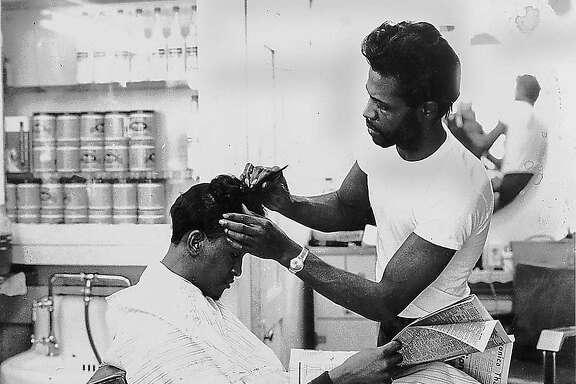 Barbershop in the Fillmore.