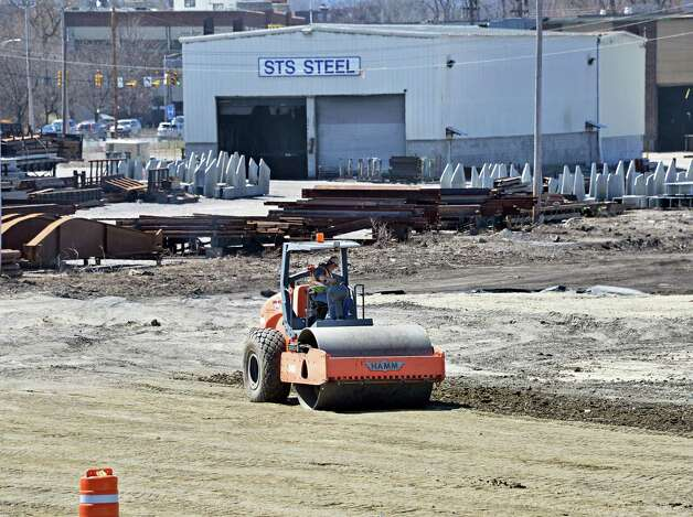 Work continues at the former ALCO site and future location of Rivers Casino and Resort at Mohawk Harbor Wednesday April 15, 2015 in Schenectady, NY.  (John Carl D'Annibale / Times Union) Photo: John Carl D'Annibale / 00031453A