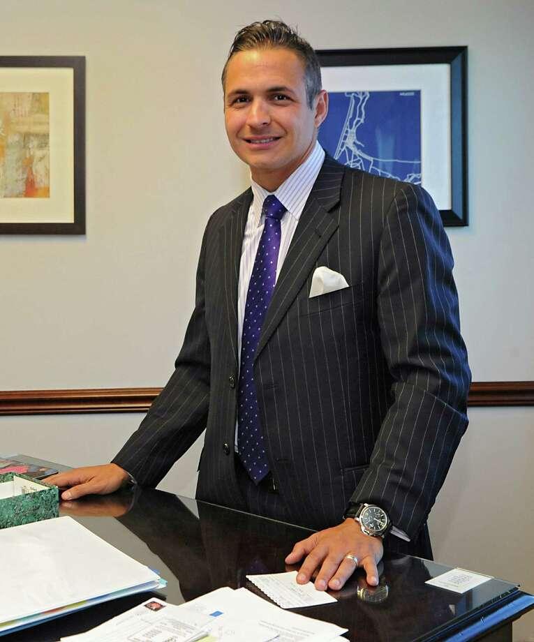 Alex Tronco, managing partner, in his office at Northwestern Mutual on Wednesday, April 1, 2015 in Colonie, N.Y.  (Lori Van Buren / Times Union) Photo: Lori Van Buren / 00031209A
