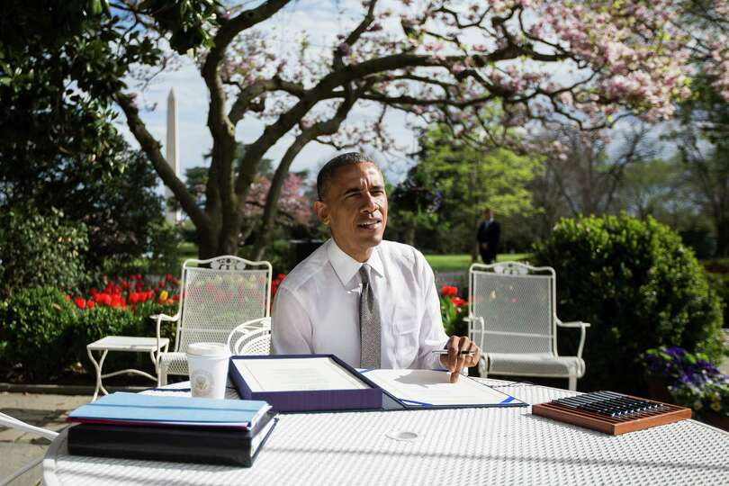 President Barack Obama signs the Medicare Access and CHIP Reauthorization Act on Thursday. After yea