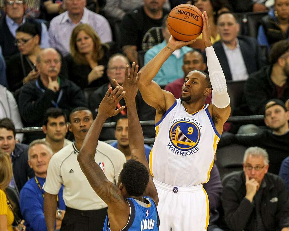Warriors swingman Andre Iguodala came off the bench this season for the first time in his 11-year NBA career. Photo: Santiago Mejia, The Chronicle