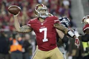 #4: Colin Kaepernick    San Francisco 49ers