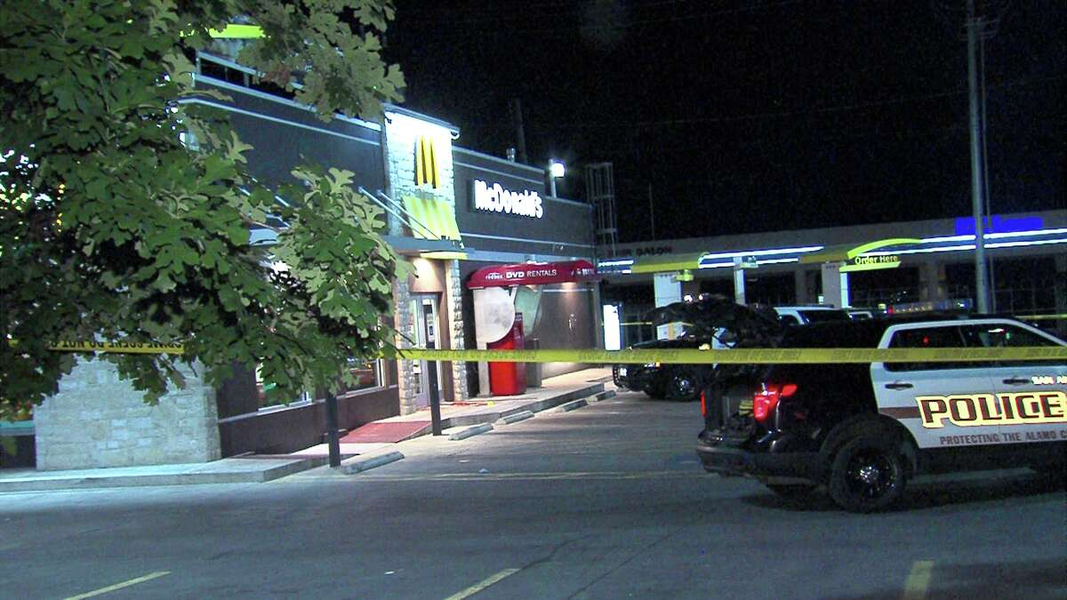 A man was stabbed in the arm Monday night on the 5500 block of Northwest Loop 410.