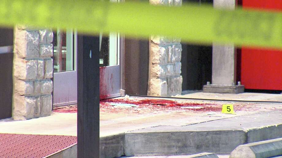 A man was stabbed in the arm Monday night on the 5500 block of Northwest Loop 410. Photo: 21 Pro Video