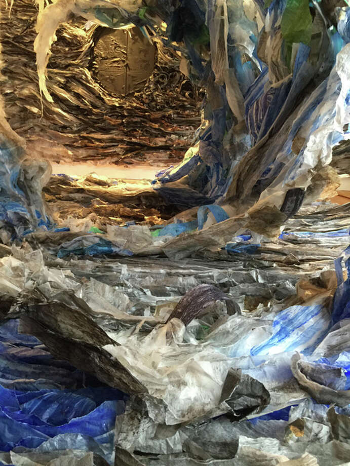 "A new show of multi-media work by Brooklyn artist Etty Yaniv - ""Urban Sediments"" - opens May 11 at the art gallery at the Stamford campus of the University of Connecticut. Photo: Contributed Photo / Connecticut Post Contributed"
