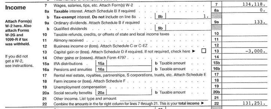 Breakdown: Gov. Greg Abbott's 2014 Tax BillTexas Gov. Greg Abbott and wife Cecilia P. Abbott paid $104 in combined income taxes for 2014. Here's the math on how they got there.IncomeGreg & Cecilia Abbott 2014 Federal Income Tax Form Photo: State Of Texas