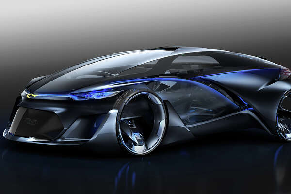 The Chevrolet-FNR is an autonomous electric concept vehicle debuted at the Auto Shanghai 2015 show in China.