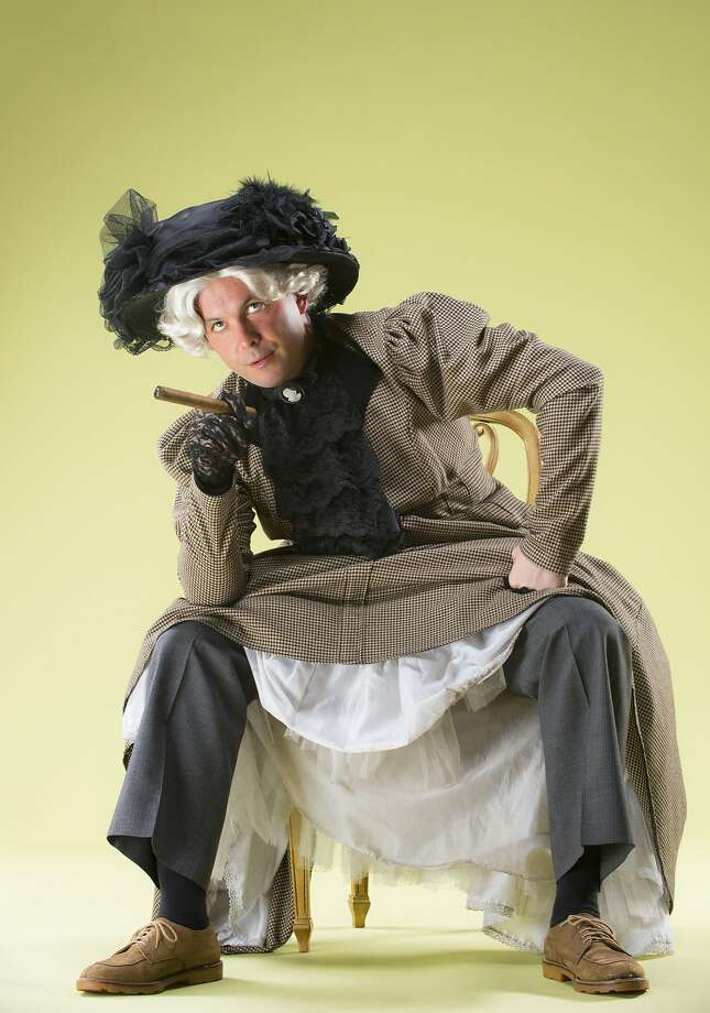 """Keith Pinto plays Charley Wykeham in the comedic play """"Where's Charley?"""" Photo: David Allen"""