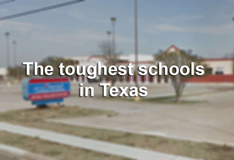 Is your child's school one of the most challenging in Texas?Scroll through the gallery to see the Lone Star State's 25 toughest schools, according to The Washington Post. Photo: Screenshot Via Google Maps