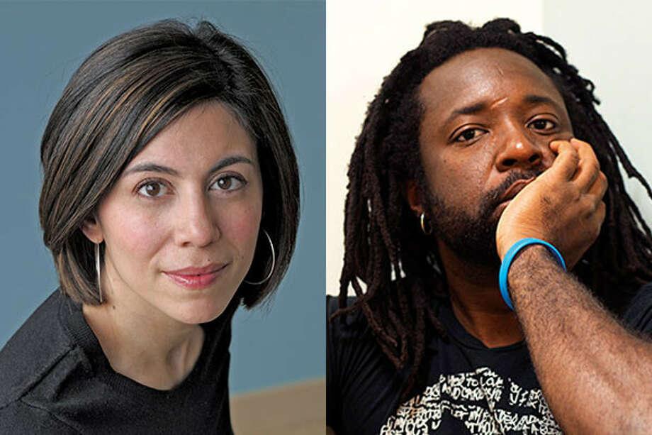 Cristina Henríquez and Marlon James. Photo: Inprint