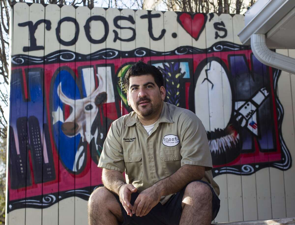 """Roost owner Kevin Naderi. Naderi will compete on Food Network's """"Beat Bobby Flay"""" on July 28."""