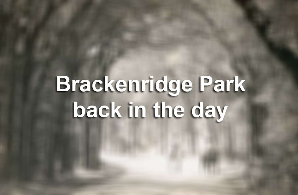Click through the slideshow to see some photos from the past of Brackenridge Park.