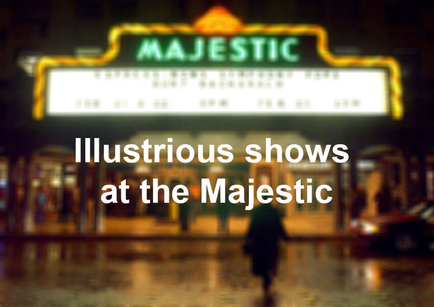 Magic, music and mayhem have graced the stage of the Majestic Theatre over the years. Here's a look back at some notable shows and performers, some who have visited the Majestic several times.
