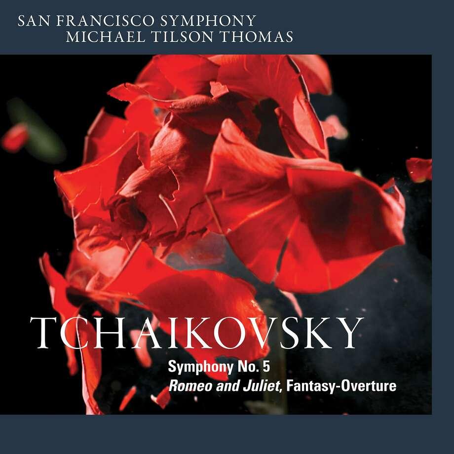 CD cover: San Francisco Symphony, Tchaikovsky's Fifth Photo: SF Symphony