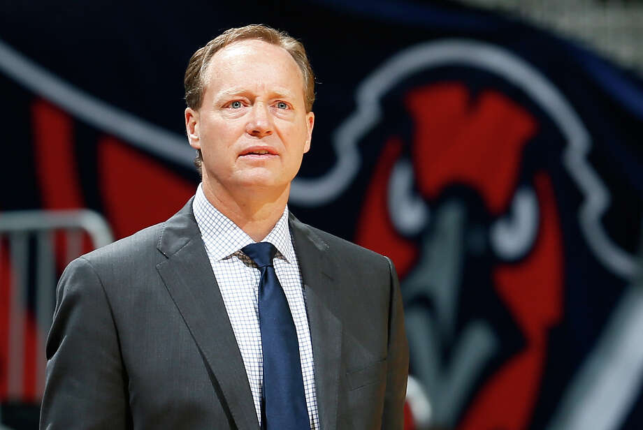tlanta Hawks head coach Mike Budenholzer has been named the 2014-15 NBA Coach of the Year, finishing ahead of Golden State Warriors head coach Steve Kerr on April 21, 2015. Budenholzer led the Hawks to their first 60-win season in franchise history and the top seed in the Eastern Conference. Photo: Kevin C. Cox /Getty Images / 2013 Getty Images