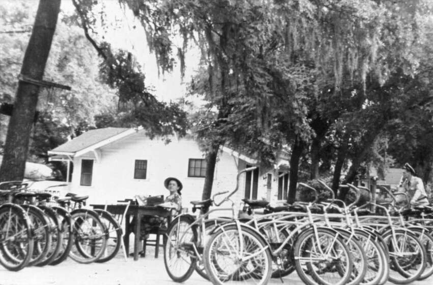 1. It all began with Brackenridge bicycle rentals in 1947. G.