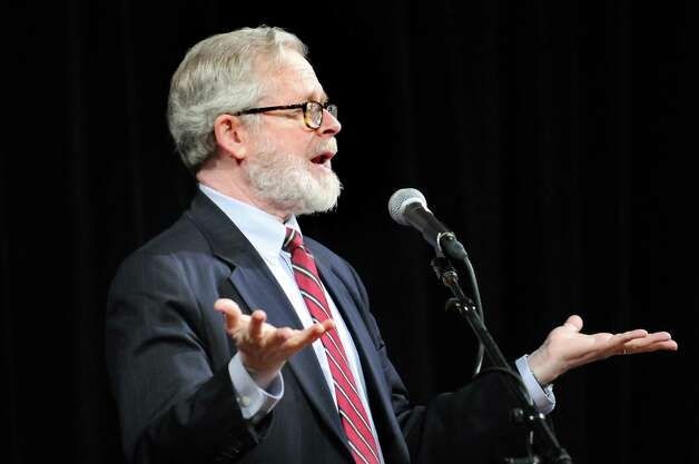 Assemblyman Richard Gottfried speaks during the New York State Nurses Assoc. rally to advocate for patients' healthcare needs on Tuesday, April 21, 2015, at the Empire State Plaza Convention Center in Albany, N.Y. (Cindy Schultz / Times Union) Photo: Cindy Schultz / 00031541A