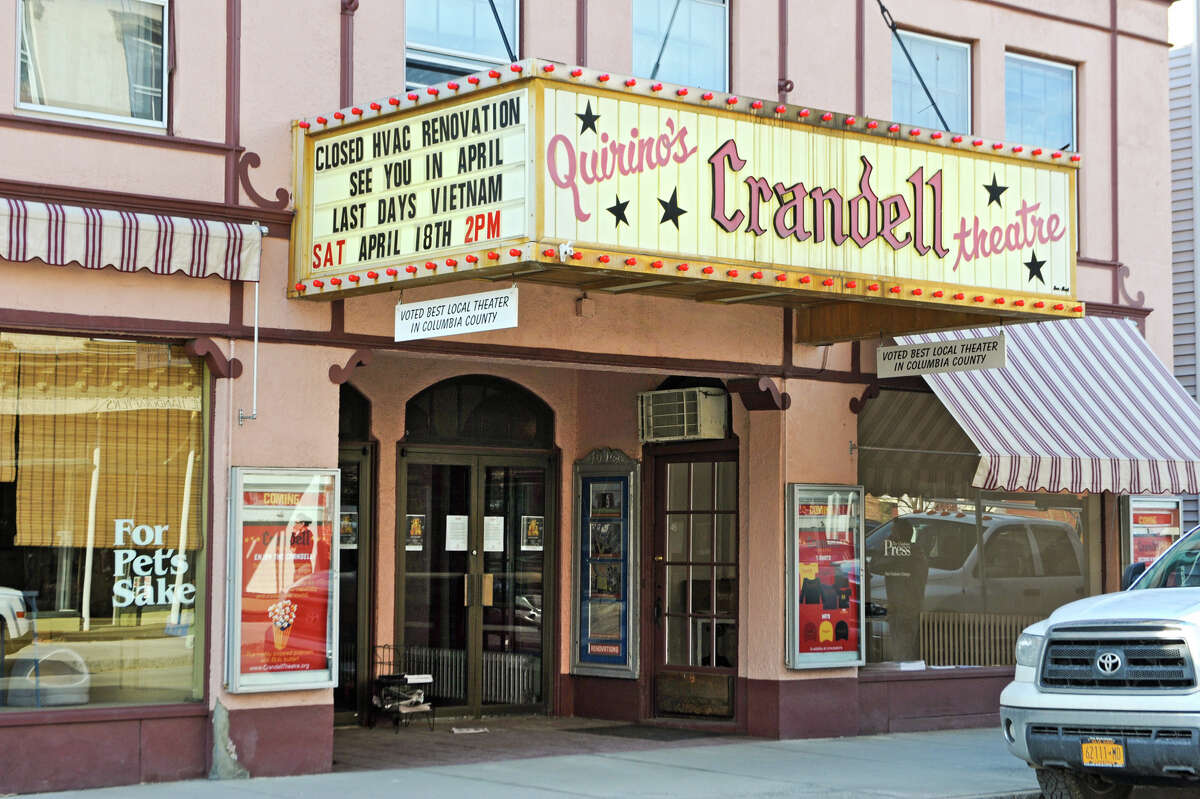 Exterior of the Crandell theatre on Thursday, April 2, 2015 in Chatham, N.Y.