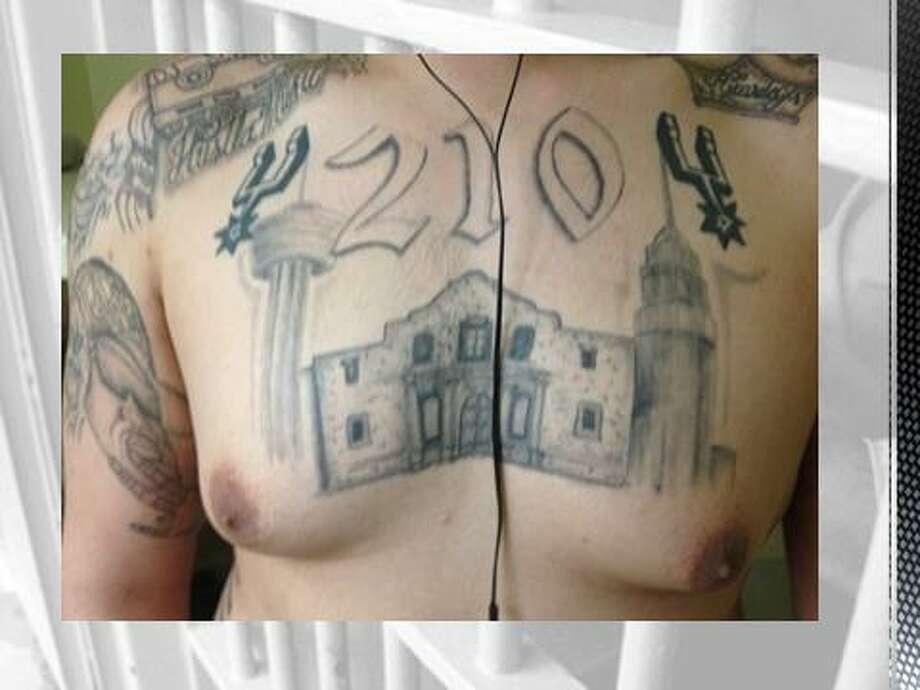 Spurs Alamo 210 Tattoos Favorites Of The San Antonio
