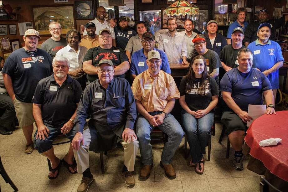 Barbecue pitmasters gathered at Pizzitola's BBQ in advance of the third annual Houston Barbecue Festival. The pitmasters had differing opinions about whether barbecue should be served with or without sauce. Photo: Michael Starghill, Jr., Photographer / © 2015 Michael Starghill, Jr.