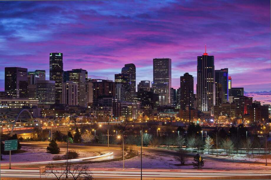 TOP 10The best US cities for business and career1. DenverCost of business rank: 116Job growth rank: 16Education rank: 20Source: Forbes Photo: Walter Bibikow, Getty Images / AWL Images RM
