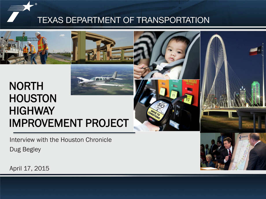A massive plan to add managed lanes along Interstate 45 and potentially revamp downtown freeway is detailed in this TXDot presentation. Photo: Texas Department Of Transportation