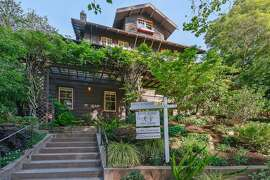 120 Dracena Ave. is a four-level Piedmont Craftsman originally built in 1910.