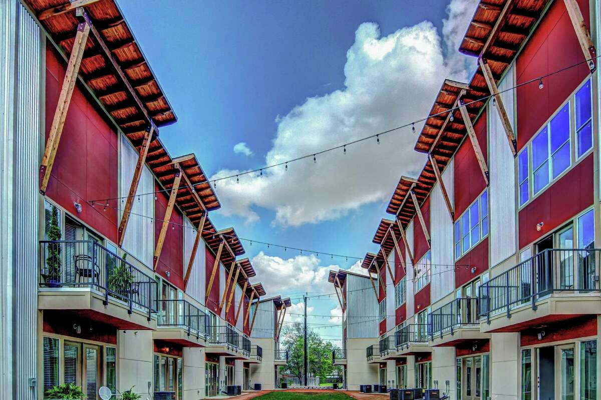Photos from the new Peanut Factory Lofts, located at 929 S. Frio St.