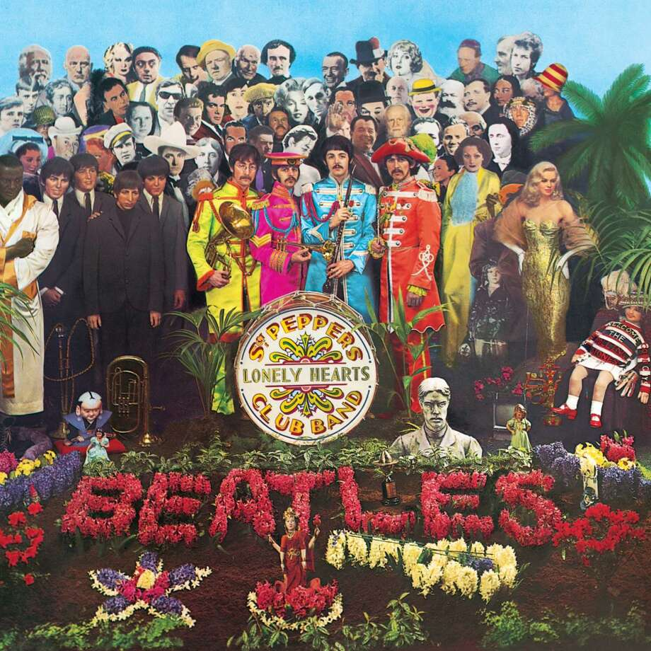 The conceptPaul McCartney's idea for the record was that the Beatles would perform as an Edwardian band, taking on alter egos, and that the album would be one of the fake band's performances. The other guys went along, but they weren't thrilled.The cover montage included Marlon Brando, Marilyn Monroe, Bob Dylan, Sonny Liston and Oscar Wilde, to name a few.