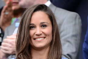 LONDON, ENGLAND - JUNE 24:  Pippa Middleton attends Day 1 of the Wimbledon 2013 tennis championships at Wimbledon on June 24, 2013 in London, England.  (Photo by Karwai Tang/WireImage)