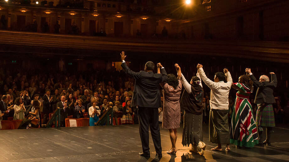 Goldman winners accept accolades from audience