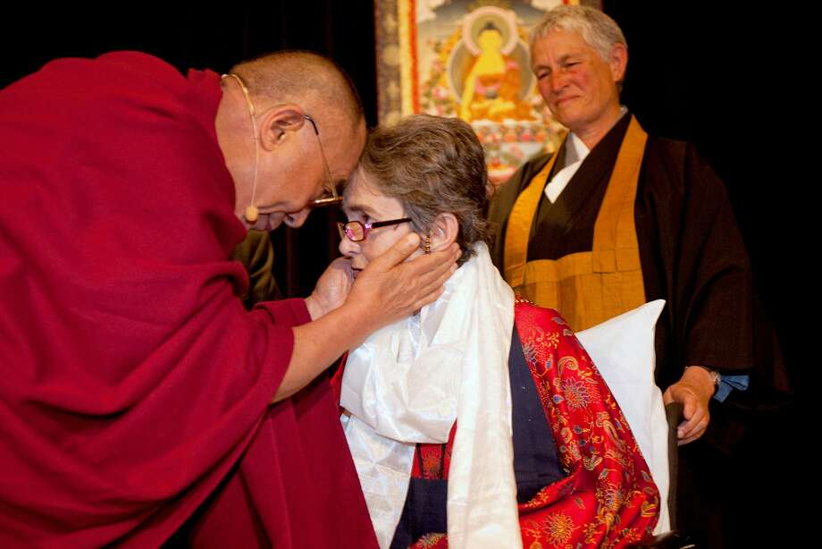 Dr. Grace Dammann received the Dalai Lama's Unsung Heroes of Compassion Award in 2009. Photo:  Michael Yamashita
