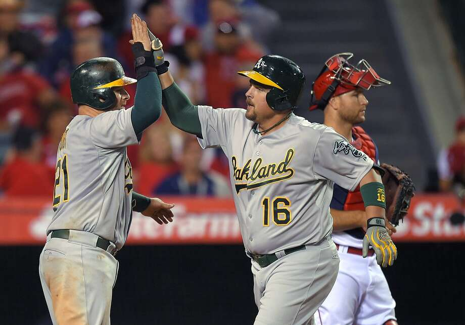 Stolen bases, Sonny Gray help A's thump Angels